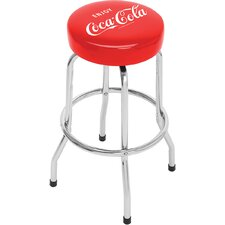 Enjoy Coca Cola Licensed Non Swivel Barstool
