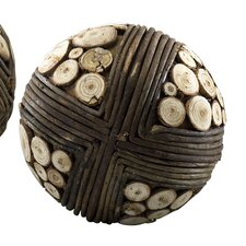 Slice Decorative Ball Sculpture