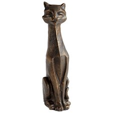 <strong>Cyan Design</strong> Eris Funny Cat Sculpture
