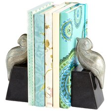 Perched Bird Book End