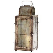 Old Timer Iron and Glass Lantern