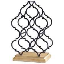 Marrakech Tower 6 Bottle Tabletop Wine Rack