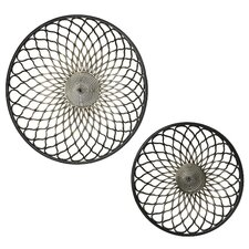 Round Mesh Wall Décor