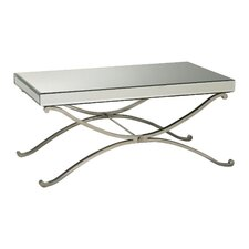 Vogue Mirror Coffee Table in Chrome