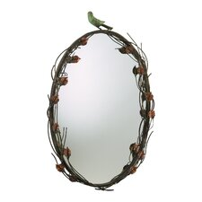 <strong>Cyan Design</strong> Bird Mirror in Muted Rust