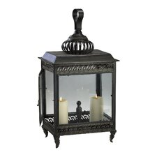 Iron and Glass Classic Candle Lantern