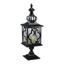 Iron and Glass Regal Lantern