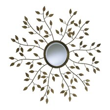 <strong>Cyan Design</strong> Leaf Mirror in Gold