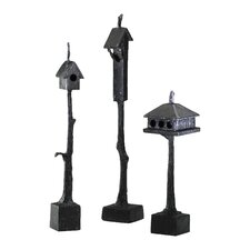 Free Standing Small Bird House