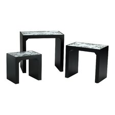 <strong>Cyan Design</strong> Mosaic 3 Piece Nesting Tables