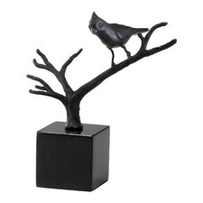 Bird on Branches Figurine