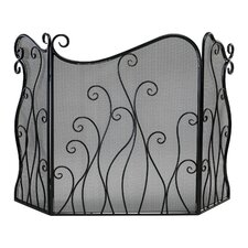 <strong>Cyan Design</strong> Evalie 3 Panel Iron Fireplace Screen