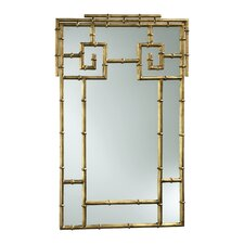 <strong>Cyan Design</strong> Bamboo Mirror in Gold