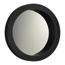 <strong>Cyan Design</strong> Round Mirror in Espresso