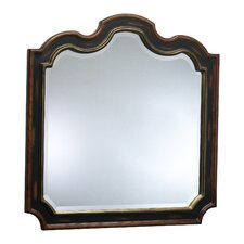 <strong>Cyan Design</strong> Canterbury Mirror in Espresso and Rosewood