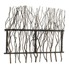 Branch Wall Decor in Rosewood