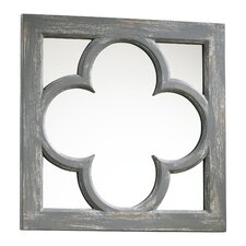 Ashwell Mirror in Distressed Gray