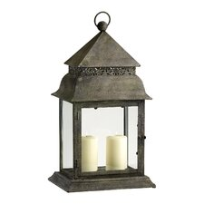 Iron and Glass Mason Lantern