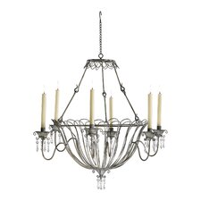 Somerset 6 Light Candle Chandelier