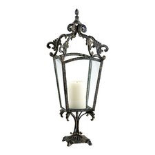 Trevi Candle Holder in Rustic