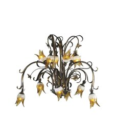 Papillion 12 Light Chandelier