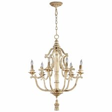 Maison 6 Light Chandelier