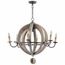 Barrel 6 Light Chandelier
