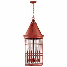 Conical Birdcage Pendant