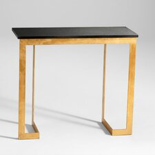 <strong>Cyan Design</strong> Dante Console Table in Gold and Black