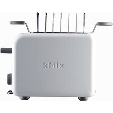 kMix 2-Slice Toaster in White
