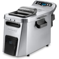<strong>DeLonghi</strong> Digital Dual Zone 4 Liter Deep Fryer