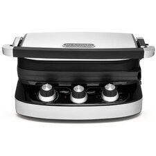<strong>DeLonghi</strong> 5-in-1 Panini Press Grill and Griddle