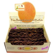 Buffalo Stix Braided Dog Treat