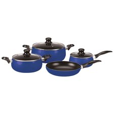 <strong>Vinaroz</strong> Venice Aluminum 7-Pieces Cookware Set