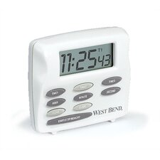 West Bend Triple Timer Plus Clock