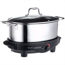 6-Quart Versatility Slow Cooker w/Griddle