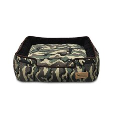 Original Camouflage Lounge Dog Bed