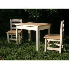 <strong>Apple Furniture</strong> Just For Kids 3 Piece Table and Chair Set