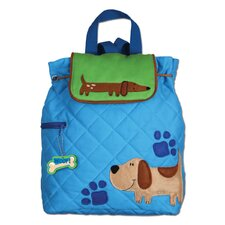 Dog Quilted Backpack