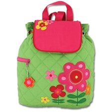 <strong>Stephen Joseph</strong> Flower Quilted Backpack