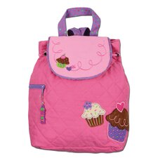 Cupcake Quilted Backpack