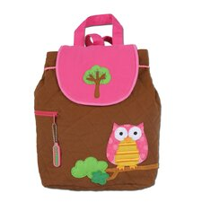 <strong>Stephen Joseph</strong> Owl Quilted Backpack
