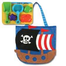 <strong>Stephen Joseph</strong> Pirate Beach Tote