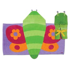 <strong>Stephen Joseph</strong> Butterfly Hooded Towel