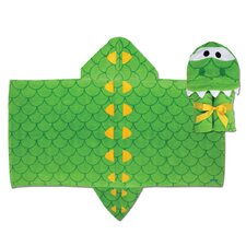 <strong>Stephen Joseph</strong> Alligator Hooded Towel