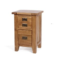 Florence 2 Drawer Bedside Table
