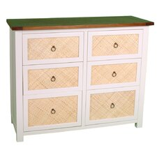 Havana Chest of 6 Drawers