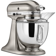 Custom Metallic 5 Qt. 325-Watt Tilt-Back Head Stand Mixer