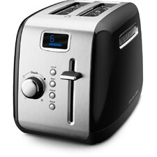 2-Slice Toaster with LCD Display