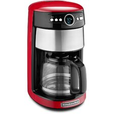 Programmable Coffee Maker with Glass Carafe